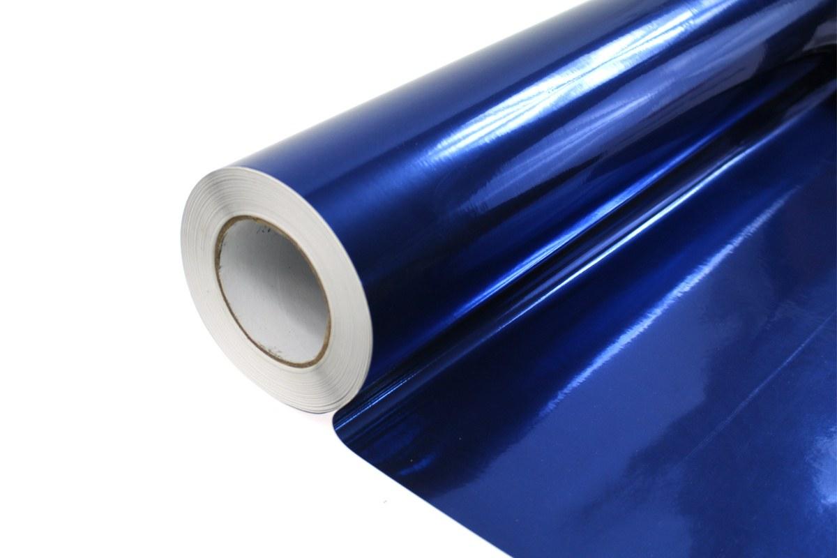Folia Wrap Blue Chrome 1,52X30m - GRUBYGARAGE - Sklep Tuningowy